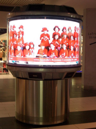 image of 360 degree TV set