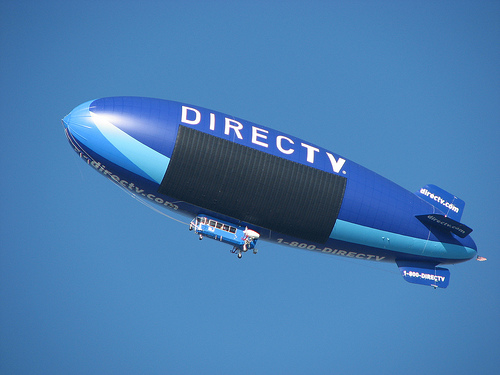 Image of the Directv blimp