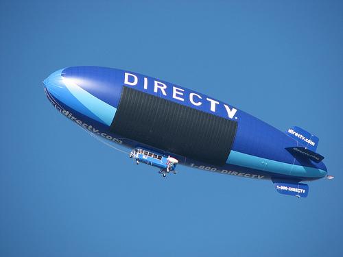 Image of the Directv blimp
