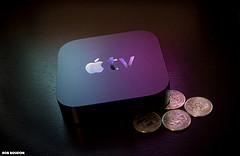 image of Apple TV box