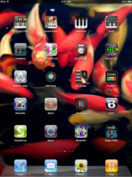 image of iPad Music Apps