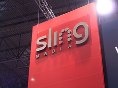image of Sling Media sign