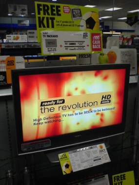 image of Sony LCD HDTV