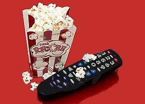 popcorn and remote